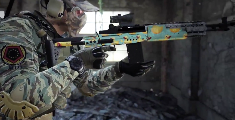 Call Of Duty Ghosts Customization Packs Get Ducky Slashgear