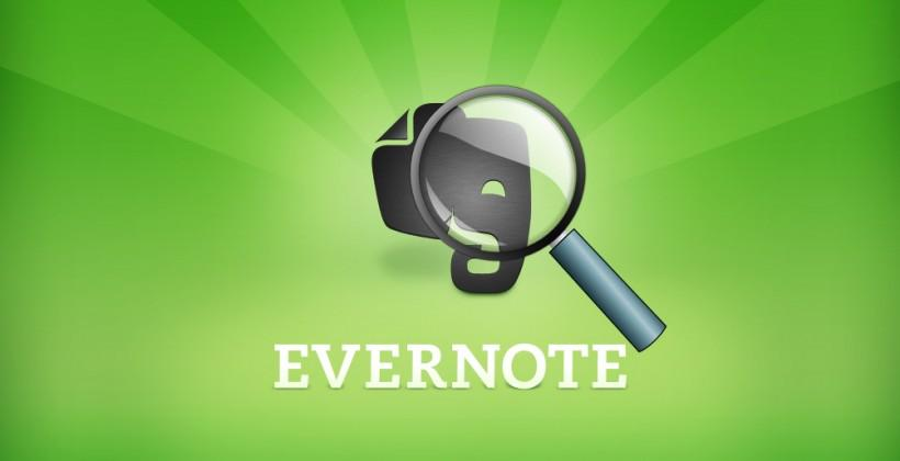 Evernote Descriptive Search claims better note hunting with fuzzy logic