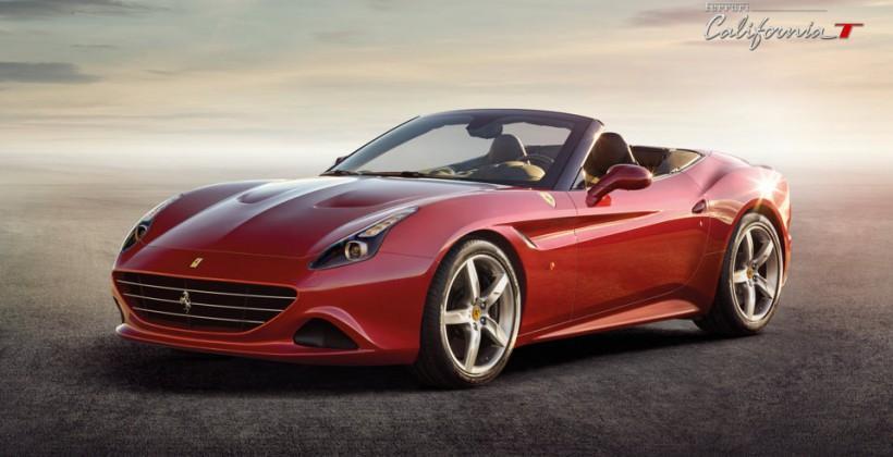 Ferrari California T debuts with turbo V8