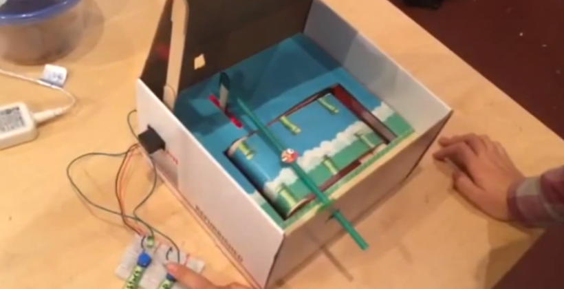 Flappy Bird in a Box takes addictive game into the real world