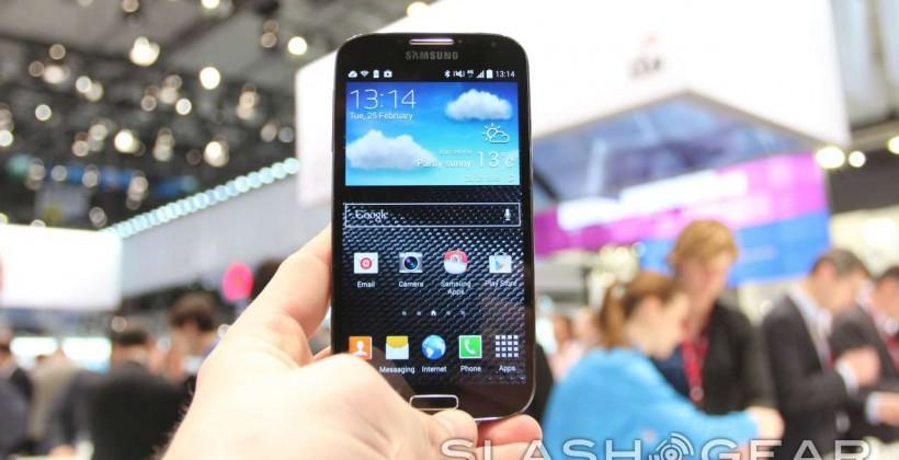 Samsung Galaxy S4 Black Edition hands-on