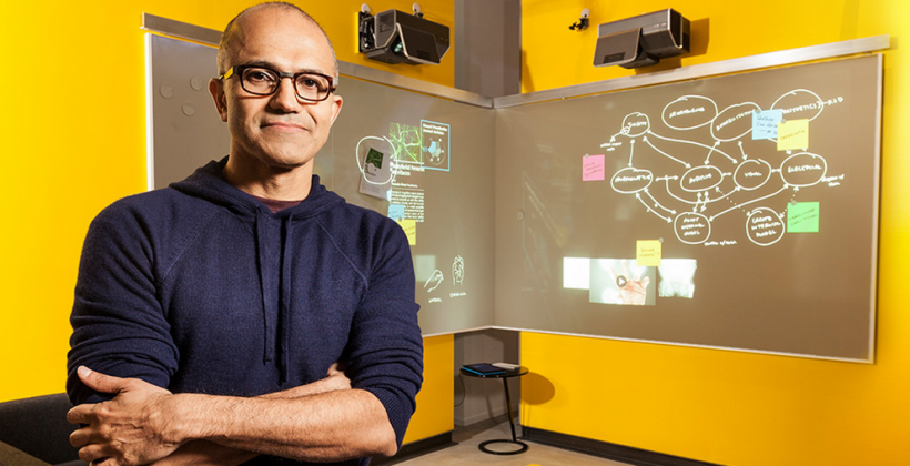 Microsoft CEO named: Satya Nadella