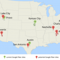 Google Fiber spread: 34 cities in 9 metro areas up for bid