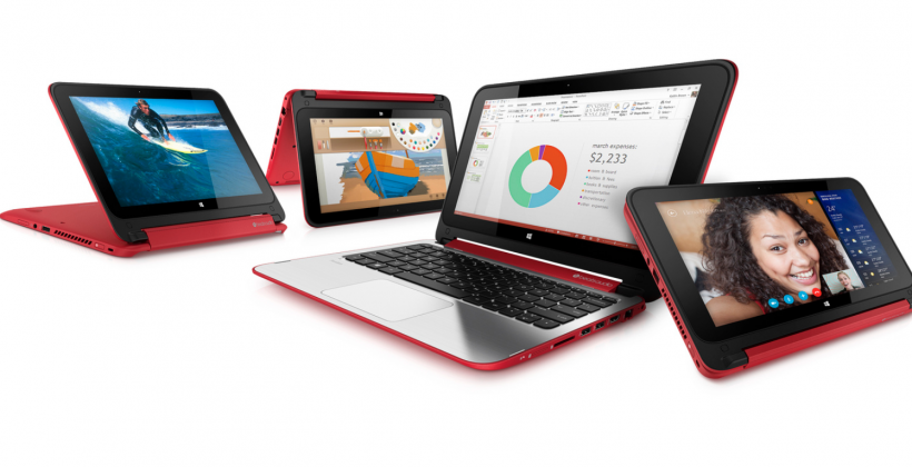 HP Pavilion x360 official: tablet, notebook, convertible