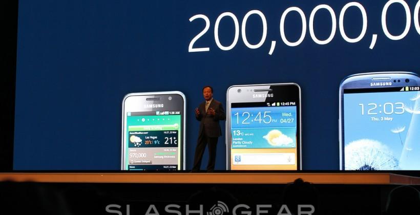 Samsung now has 200 million Galaxy smartphone customers