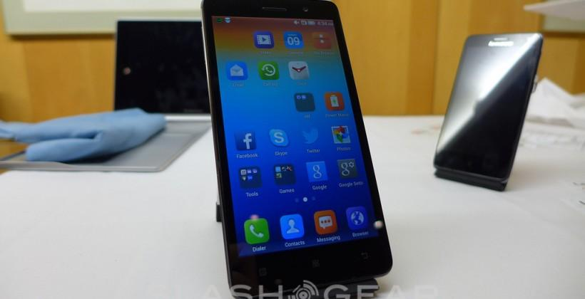 Lenovo S860 hands-on: with battery to spare