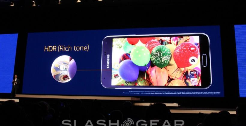 Samsung Galaxy S5 camera features expanded