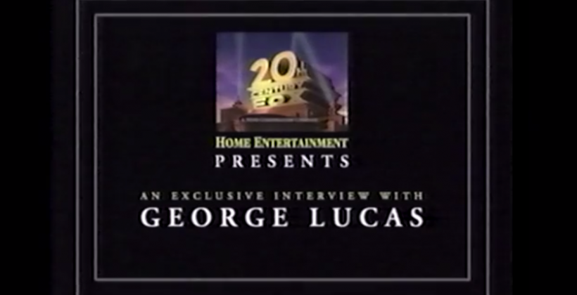 George Lucas Star Wars VHS interviews get digital this week