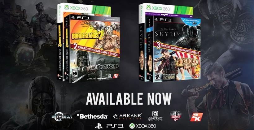 2K and Bethesda Softworks Legendary Bundles include two top