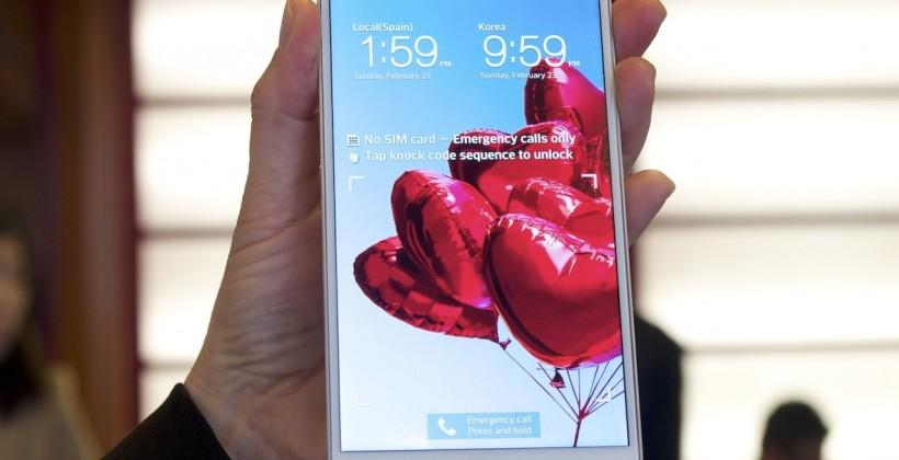 LG G Pro 2 hands-on
