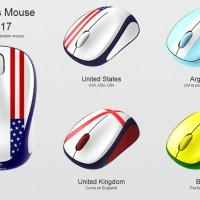 Logitech Global Fan Collection M317 wireless mice debut clad in national flags