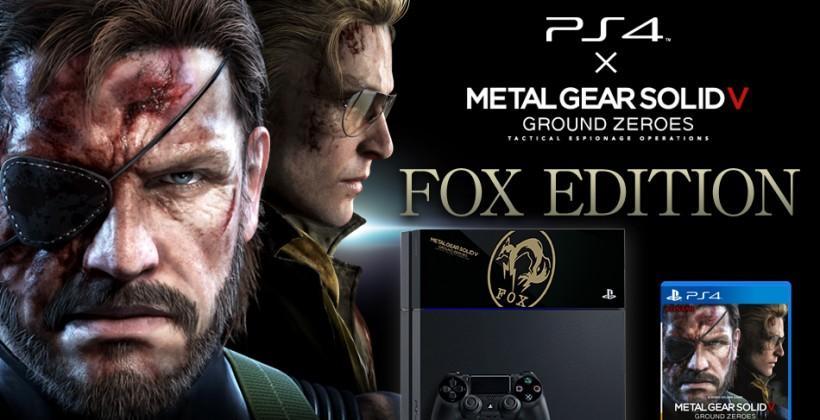 Metal Gear Solid PS4 package stays simple - SlashGear