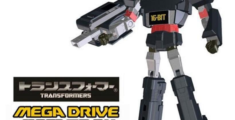 Sega Mega Drive gets official Megatron Transformers treatment