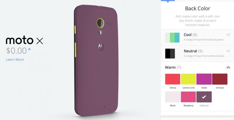 Motorola's Moto Maker international launch due Q2