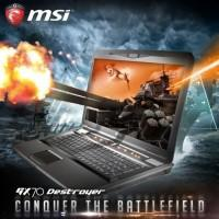 MSI GX70 and GX60 Destroyer gaming notebooks updated with AMD R9-M290X graphics