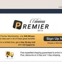 Newegg Premier challenges Amazon Prime