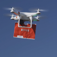 Netflix Drone 2 Home spoofs Amazon PrimeAir with DVD snark