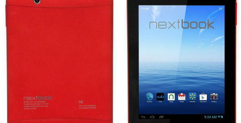 Red Nextbook Premium 8HD 8-inch tablet runs 1.5GHz Cortex A9 processor