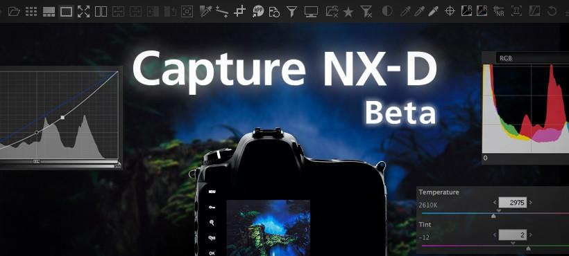 Nikon Capture NX-D RAW image processing software now in free public beta