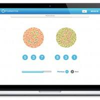 Opternative online eye exam provides a prescription for glasses remotely