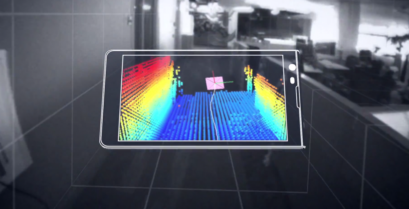 Google Project Tango: 200 phones with 3D sensors for room-scanning