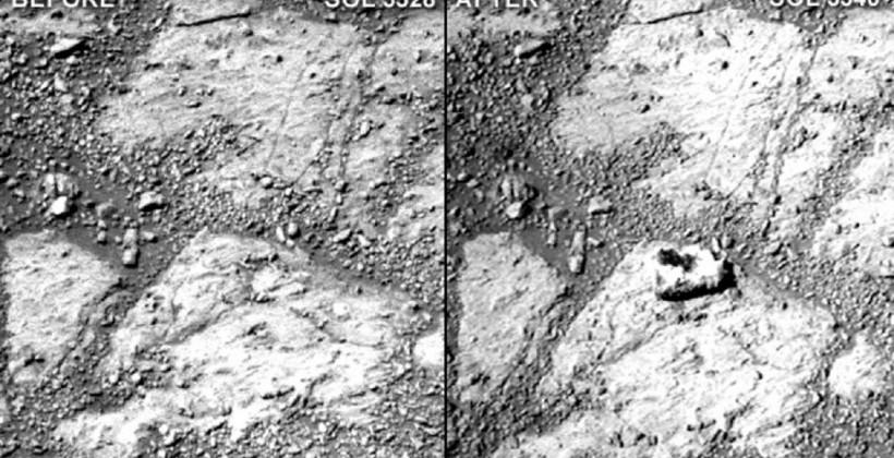 NASA solves Mars mystery rock case, aliens didn't do it