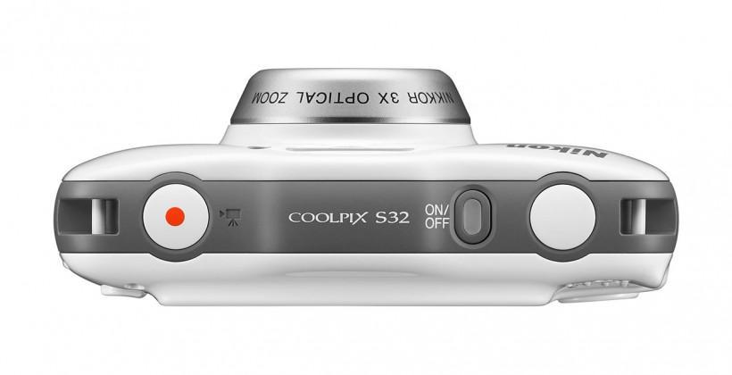Nikon Coolpix S32 digital camera is waterproof and shockproof