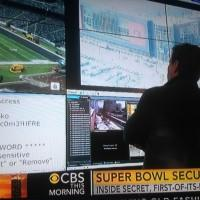 WiFi network and password for Super Bowl stadium leak during pre-game coverage