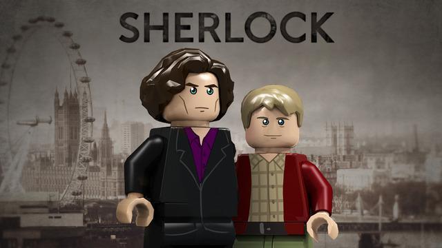 LEGO Sherlock, BTTF DeLorean and VF-1 Mecha under fan kit consideration
