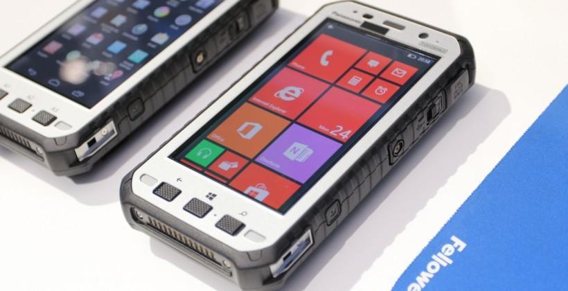 Panasonic Toughpad 5 hands-on: no smartphone more rugged