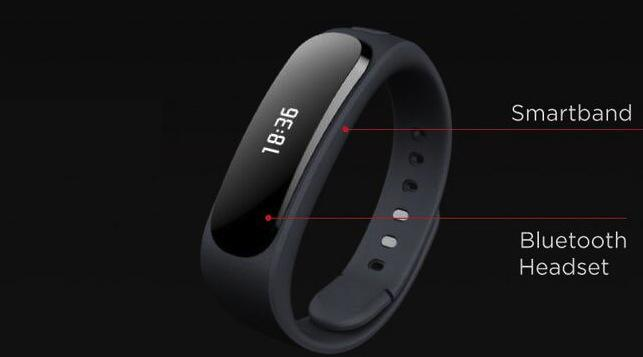 Huawei TalkBand B1 wearable packs pull-out headset