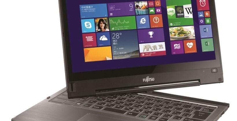Fujitsu Lifebook TH90/P convertible ultrabook features 13.3-inch screen and Intel Core i5-4200U CPU