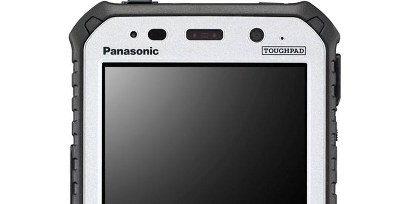 Panasonic 5 rugged toughpad aims at mobile workers