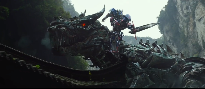 Transformers: Age of Extinction trailer stars Dinobot Grimlock