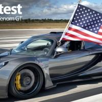 Hennessey Venom GT sets speed record reaching 270.49 mph