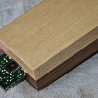 4 AXYZ 3D-printed wood furniture enables embedded electronics