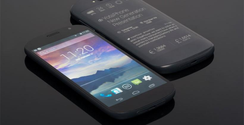 Next-Gen YotaPhone offers full touch control on the electronic paper screen