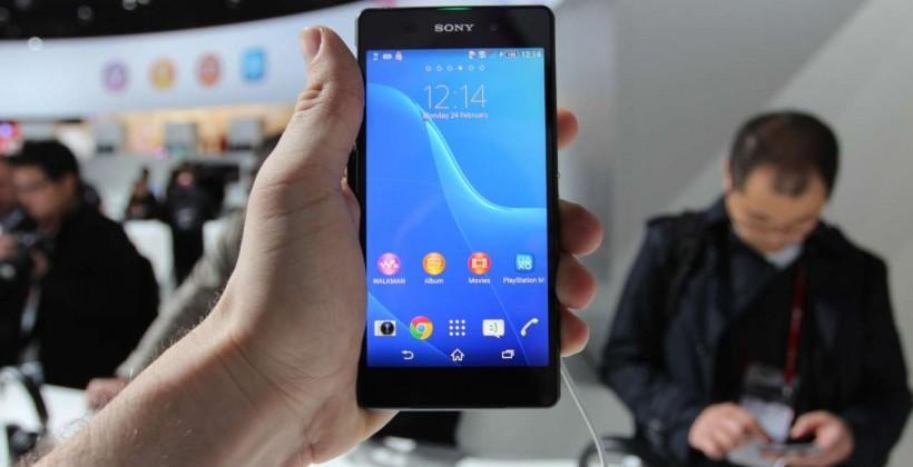 Sony Xperia Z2 hands-on