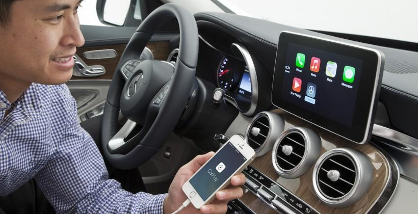 Volvo and Mercedes demo Apple CarPlay: WiFi link incoming