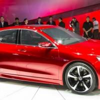2015 Acura TLX production car to debut in New York
