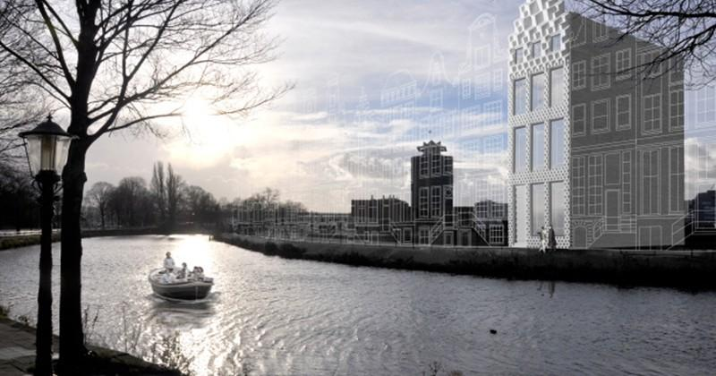 Architects in Amsterdam to construct full-scale 3D printed homes