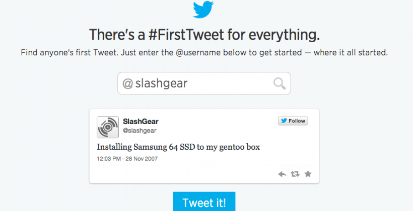Twitter #FirstTweet turns back clock for 8th birthday
