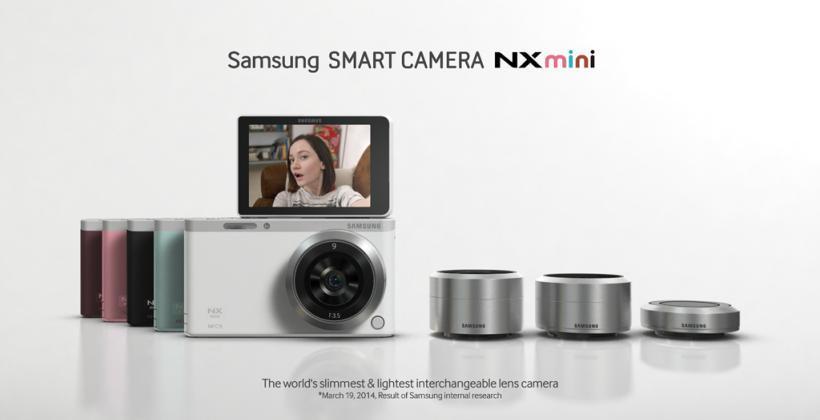 Samsung Galaxy NX-F1ZZG1HSG NX Mini