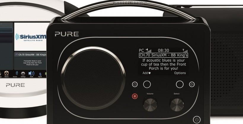 Pure Evoke F4 scores SiriusXM Radio