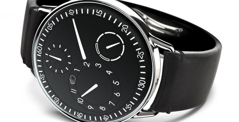 Ressence Type 1 pairs smartwatch looks with old-school tech