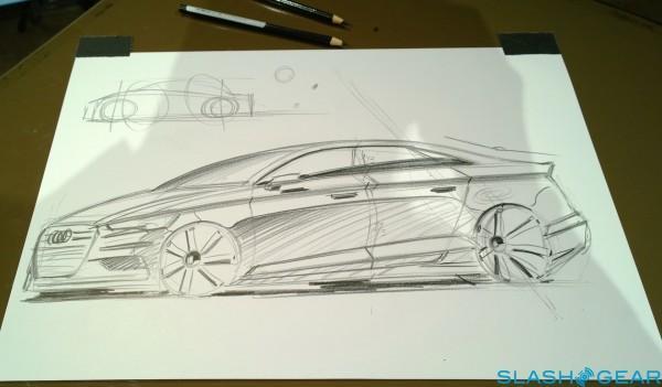 2015 Audi A3 Sketch