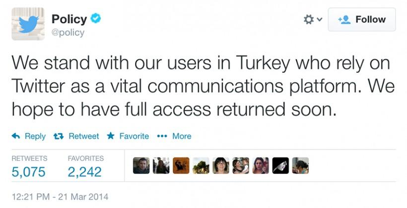 Google Public DNS blocked in Turkey over Twitter ban