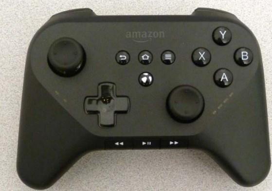 Amazon gamepad for media streamer leaks