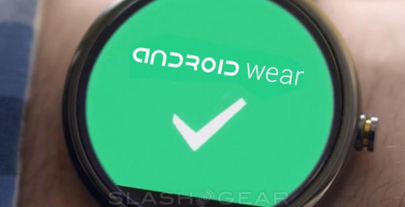 SlashGear 101: Android Wear for Google wearables