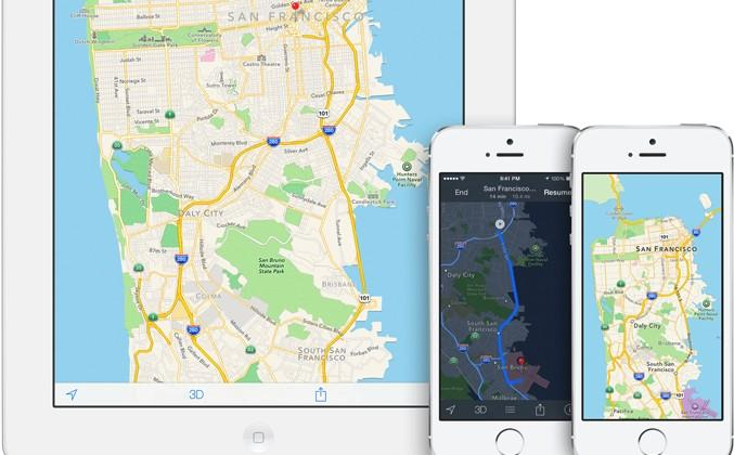 iOS 8 Apple Maps revamp tipped